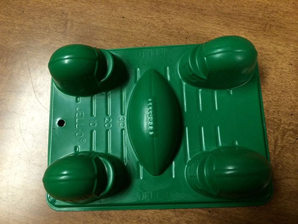 JELL-O Jigglers Football  Mold Tray