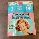 Vintage?? Jac-O-Net Hide-Away Truly Invisible Hair Net-pkg of 3 in original pkg