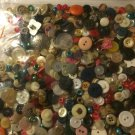 5+ Pounds- BUTTONS~BRIGHT COLORS~VINTAGE~Quilting~Sewing~Scrapbook~Crafts