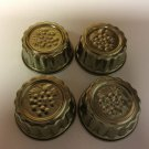"SET OF 4 VINTAGE 3 1/2"" ROUND JELLO MOLDS - GRAPES"