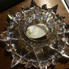 Elegant Heavy Multisided Prism Lead Crystal Candle/Votive/Tealight/Vase Holder