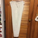 "Women's Chic Khaki Jeans - Elastic Waist Inseam 29"" - Size 14 Average"