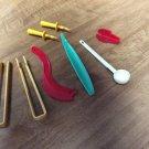 Lot Kitchen Vintage Tools Tupperware Honey Spoon, Lettuce Corer, Sli-SAW-All, etc