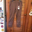 Studio 18 Mocha Brown Cotton/Spandex Pants 14W NWT