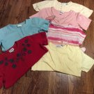 Lot of 6 Women's S/S Tops-Alfred Dunner, Shenanigans, etc. Sz L & M