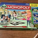 MY Monopoly Family Game Personalize Version Hasbro