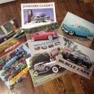 Lot of Calendars Wheels of Yesteryear,Classic Cars,Muscle Cars,Junkyard Classics