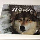 2007 North America Wildlife Calendar with Frameable Pictures
