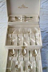 Vintage Silverplate Tea & Cake Set - Afternoon Tea Set