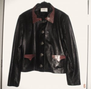 Women's  Italian Leather  Jacket by Scully - Heart & Soul Design
