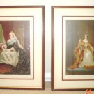 SALE Antique Prints  Queen Victoria