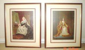 Antique Prints  Queen Victoria