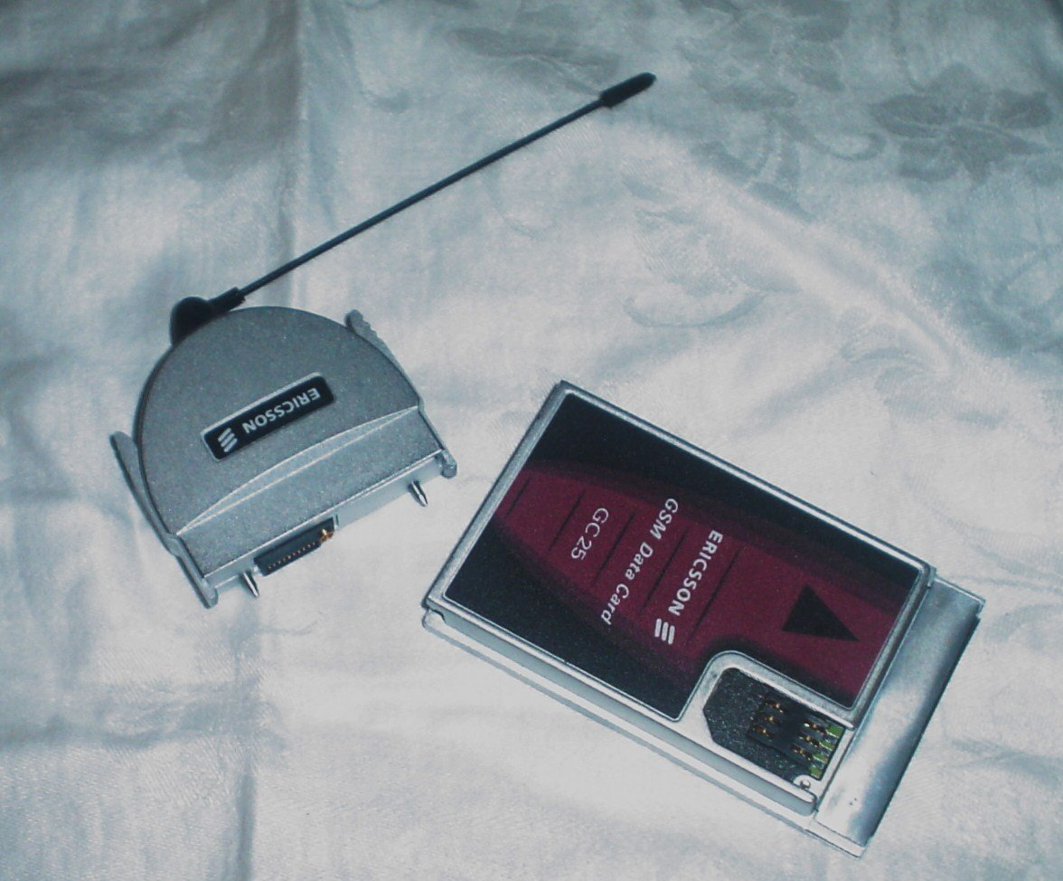 SOLD Vintage Ericsson GSM Data Card GC 25 w/ antenna