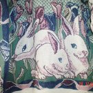 Sugar StreetWeavers Vintage Design Women's Tapestry Sweater/Jumper Rabbits