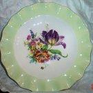 Vintage English Tulip Plate