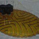 Sale - Art Deco  GlassVanity Tray