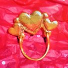 Jeep Collins  Charm Holder/ Brooch Hearts