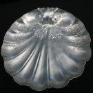 Vintage Aluminum Shell Serving Tray