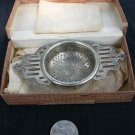Afternoon Tea/ Boxed Silverplated Tea Strainer - James Walker London
