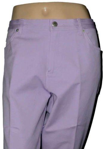 Real Clothes Petites Purple Lavender Cropped Pants 14 P