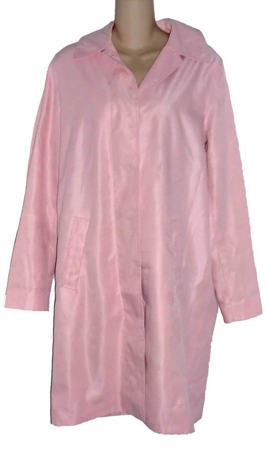Lauren Ralph Lauren Pale Pink Spring Raincoat S 4 6