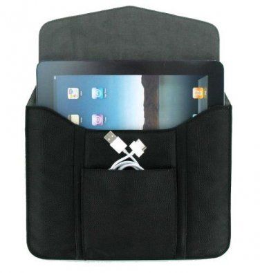 """OEM Verizon Leather Portfolio Sleeve w/Pouch for tablet ipad up to 10.1"""""""