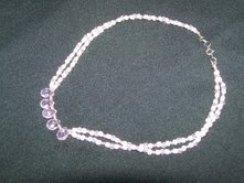 Pink Ice Double Stranded Choker