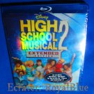High School Musical 2 Extended Edition Blu-ray 2007 Disney rainbow Zac Efron