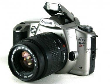 Rare Canon EOS REBEL XSN 35mm SLR Film Camera & 35-80mm EF Lens 3000N 66N Date