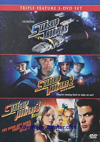New Sealed Starship Troopers 1, 2 and 3 Trilogy Dvd Set