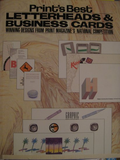Print's Best Letterhead and Business Cards
