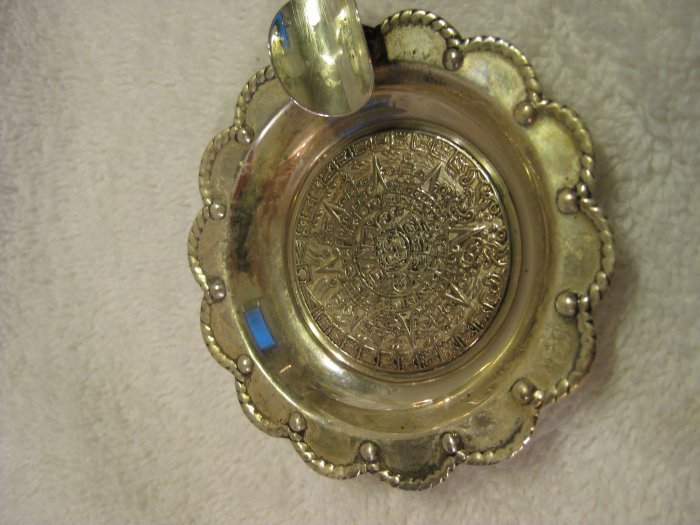 Mexican Sterling Ashtray