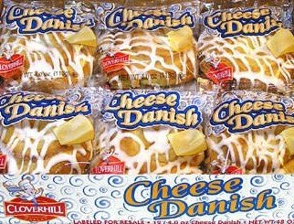 Cloverhill Cream Cheese Danish 12 ct