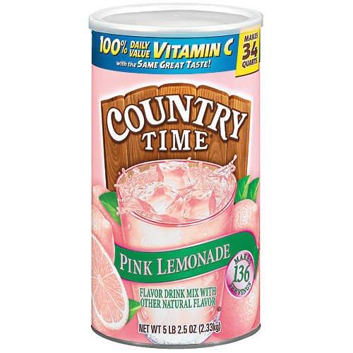 Country Time Pink Lemonade 84 quarts