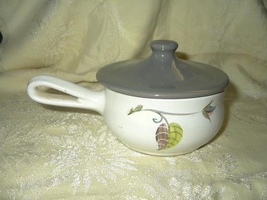 Vintage A.Colley Covered Crock- England