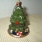 Christmas Tree Porcelain Trinket Box-New
