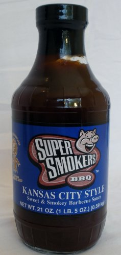 Super Smokers Kansas City Style BBQ Sauce Super Smoker's Bar-B-Que