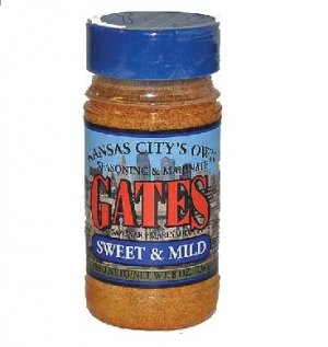 Gates BBQ Sauce All Purpose Bar-B-Que Seasoning & Marinade Sweet & Mild Barbecue