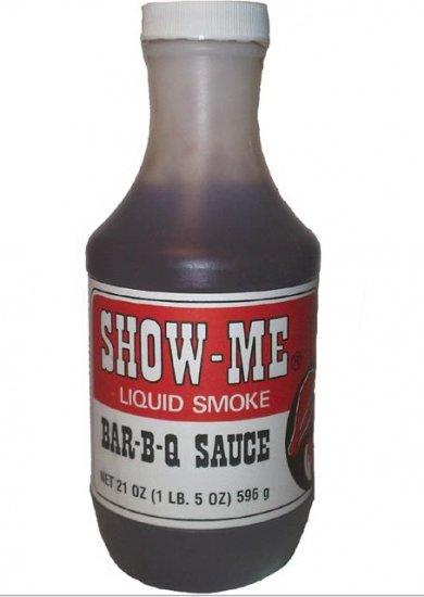 Show-Me Liquid Smoke Bar-B-Q Sauce Show Me Barbecue BBQ Sauce