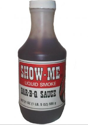 Show-Me Liquid Smoke Bar-B-Q Sauce Show Me Barbecue BBQ Sauce