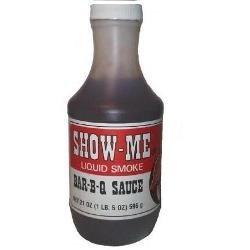 The Original Show-Me Barbecue Sauce with Liquid Smoke 21 oz. Show Me Bar-B-Q Sauce BBQ