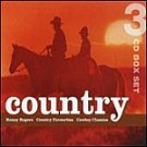 Country-3 CD-Feat Mickey Gilley HALL-73045 SDC19