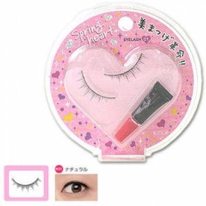 KOJI SPRING HEART False Eyelashes #1