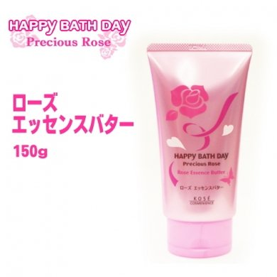 KOSE Happy Bath Day Precious Rose Essence Butter