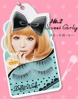 Dolly Wink Eyelash No.2 (Sweet Girly)