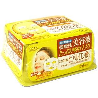 KOSE Clear Turn Hyaluronic Acid Essence Mask(26pc)