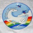 Vintage unicorn plate #1 FREE US SHIPPING