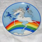 vintage unicorn plate #3 FREE US SHIPPING