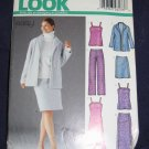 New Look pattern 6213 Size A 10-22 uncut out of print FREE US SHIPPING