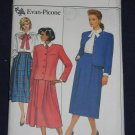 1986 Butterick number 4018 size 6 Evan-Picone out of print FREE US SHIPPING